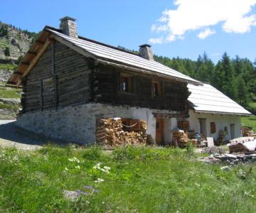 Rénovation d'un chalet d'alpage ~ Névache