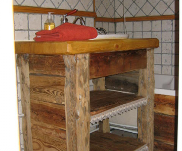 Rénovation à Névache 05 : tommettes terre cuite