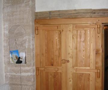 Portes intérieures en mélèze