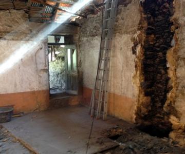La vieille grange avant rénovation