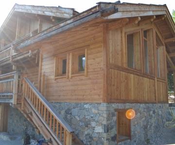 Chalet rénové en mélèze de pays, Hautes Alpes