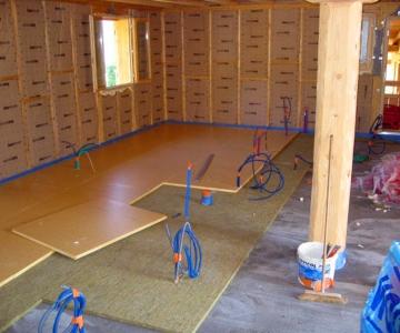 isolation phonique et thermique des planchers