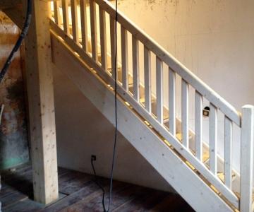 Nouvelle trémie et son escalier