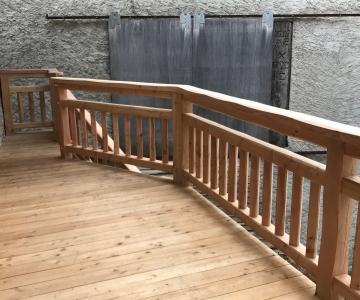 nouvelle terrasse en mélèze