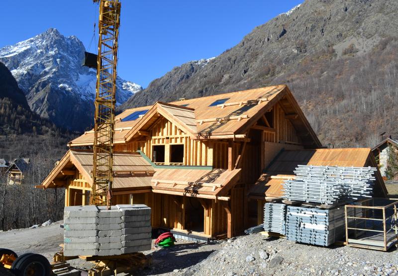 Maison ossature bois - Hors d'air, hors d'eau - Pelvoux, Hautes-Alpes
