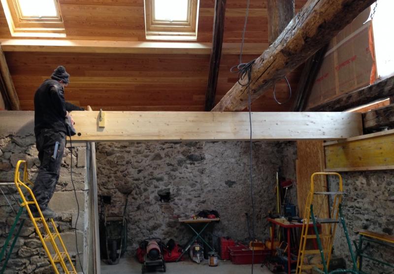 Transformation d'une écurie en appartement - Alp Ecrins Construction