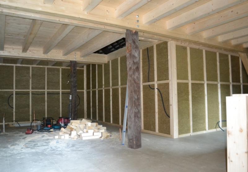 Transformation d'une grange en 2 appartements - Hautes-Alpes