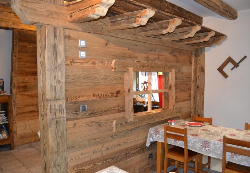 Habillage bardage vieux bois - Vallouise, Hautes-Alpes