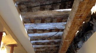 Rénovation d'une vieille grange