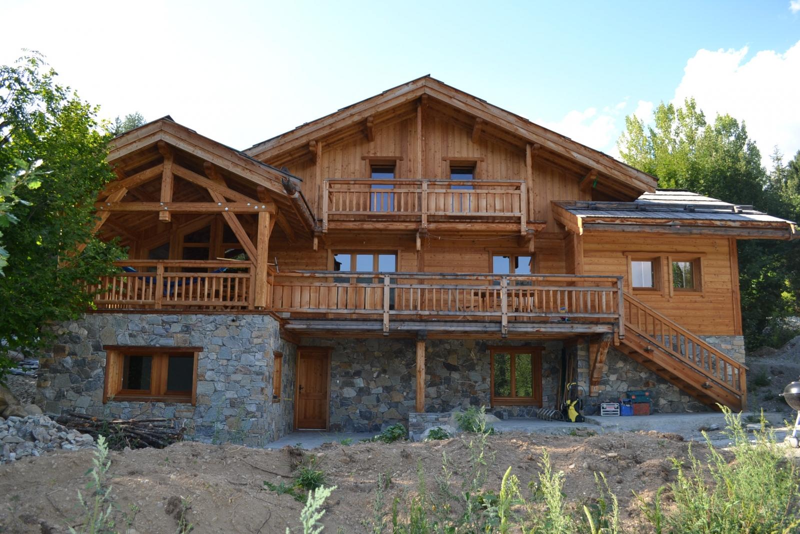 Construction d un chalet en bois for Construction chalet bois sans permis construire